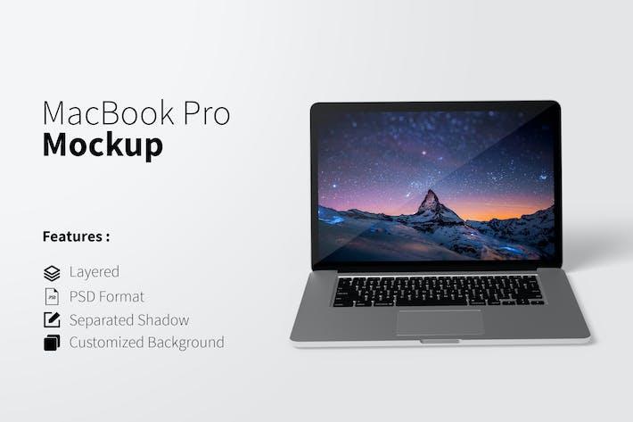Thumbnail for Mockup élégante pour MacBook