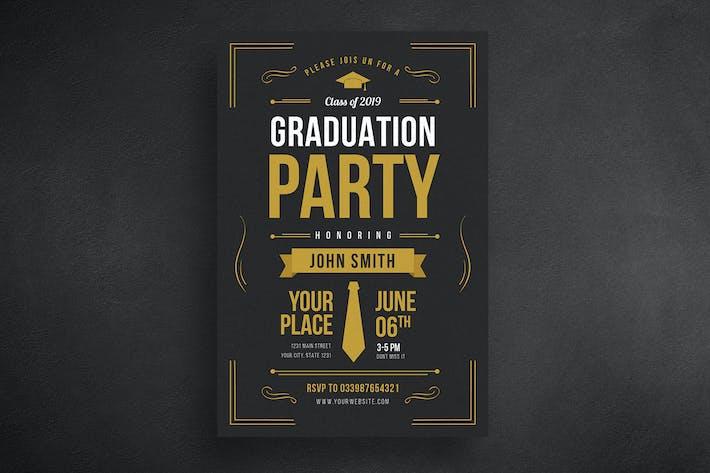 Thumbnail for dépliant pour fête de fin d'études