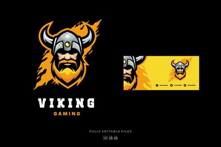 Thumbnail for Viking Sports and E-sports Logo