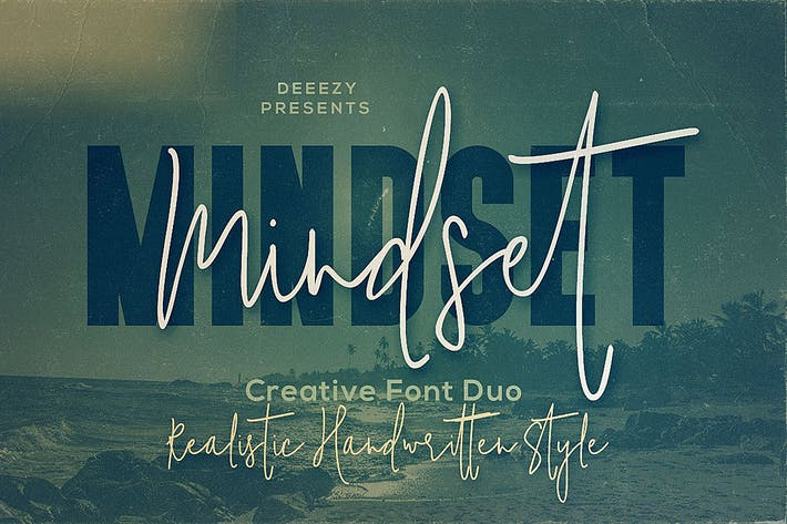 Thumbnail for Mindset Font Duo