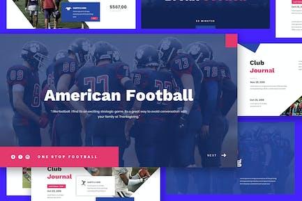 American Football Google Slides Template
