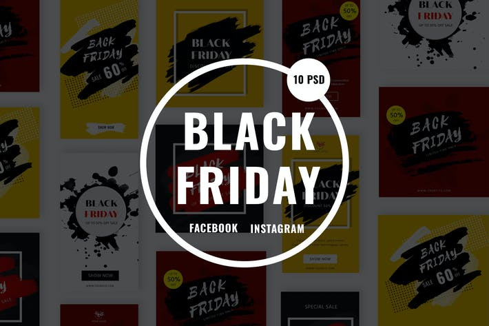 Cover Image For Black Friday Sale Banners