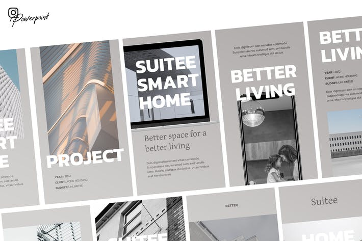 Suuite - Property Instagram Powerpoint
