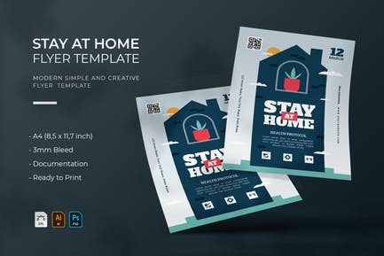 Stay at Home | Flyer