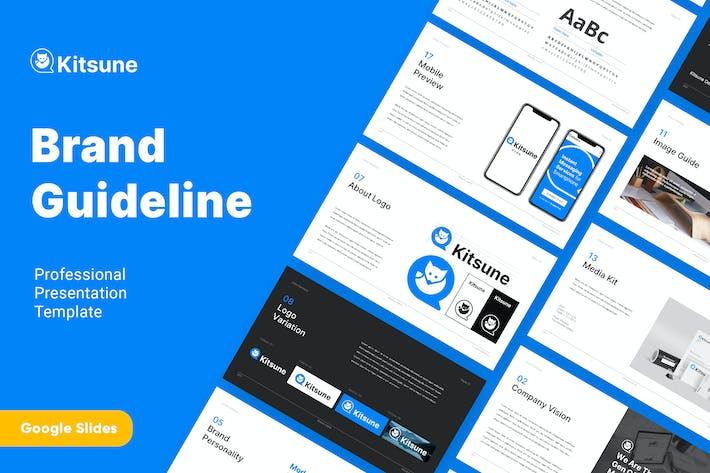 Thumbnail for KITSUNE - Brand Guideline Google Slides