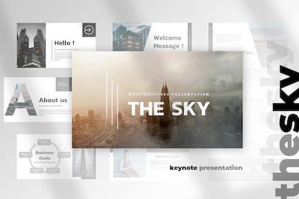 The Sky - Keynote Presentation