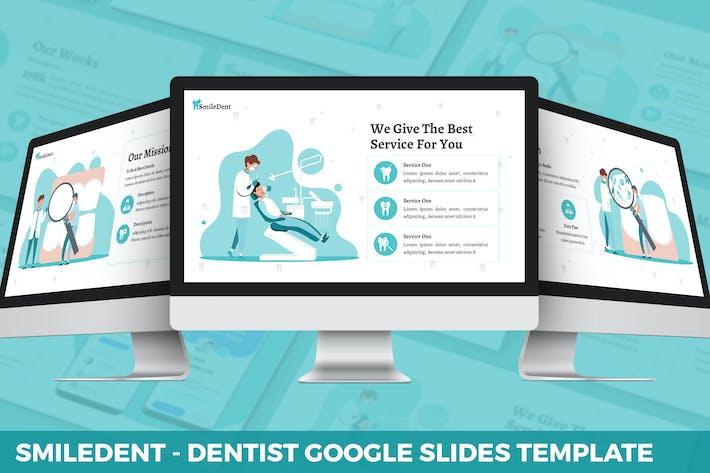 SmileDent - Dentist Google Slides Template