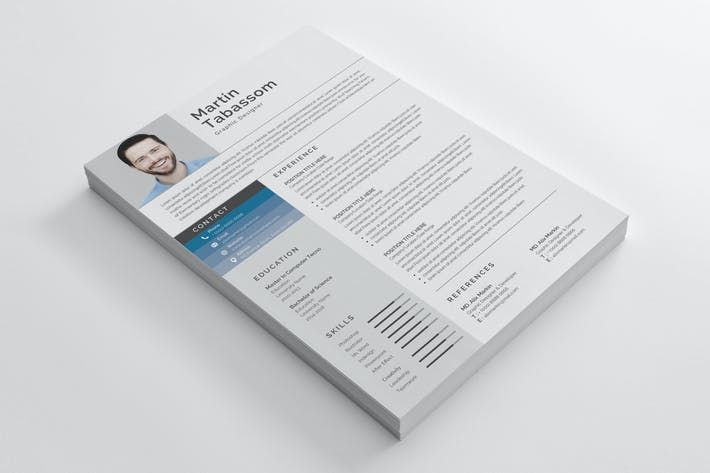 Thumbnail for Resume Template 46