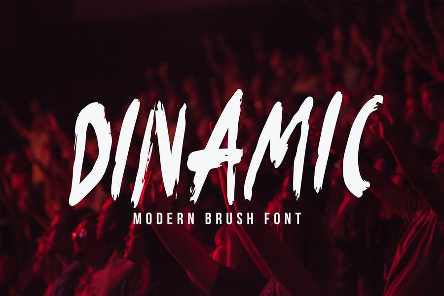 Dinamic Brush Font