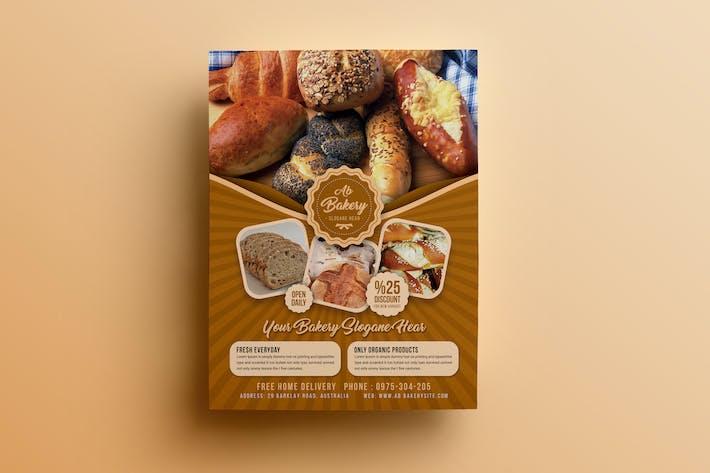 Bakery Flyer Template By Designsoul14 On Envato Elements