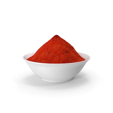 Cuenco de Polvo de Curry Rojo