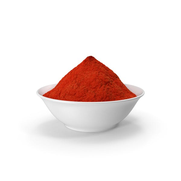 Cuenco de Polvo de Curry Rojo