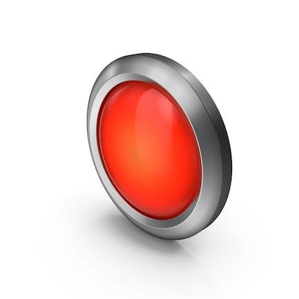Красная иконка из бисера