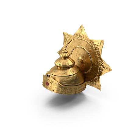 Krone der Hindu-Gottheit