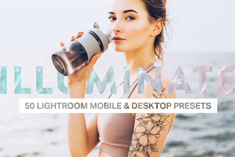 50 Пресеты Lightroom освещения и LUT