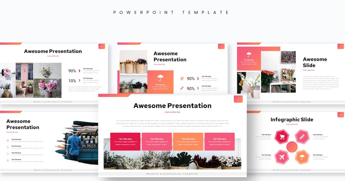 Download Florista - Powerpoint Template by aqrstudio