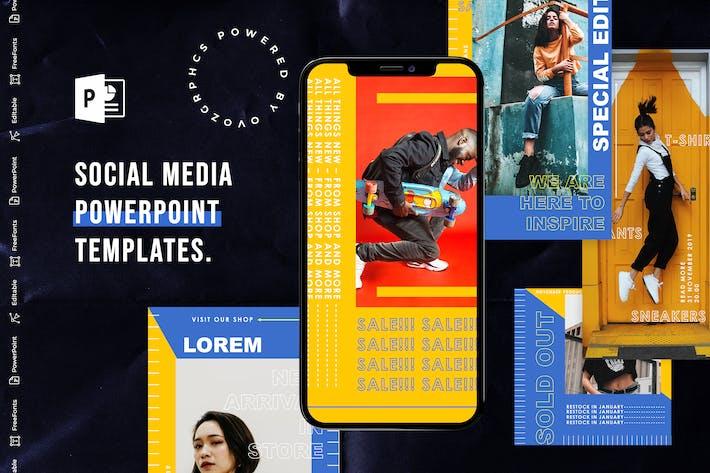 Thumbnail for Social Media PowerPoint Template