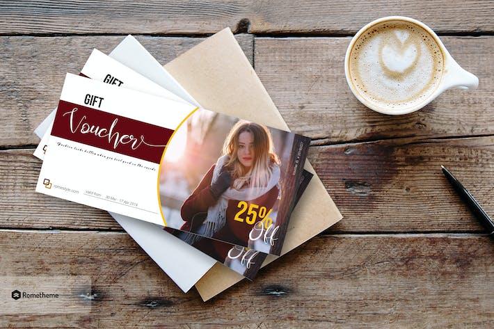 Thumbnail for Fashion Gift Voucher Card vol.01