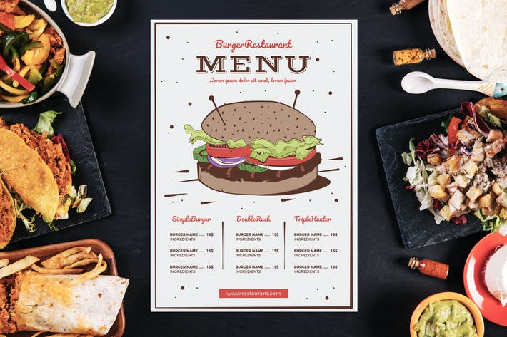 juice bar menu template by barcelonadesignshop on envato elements