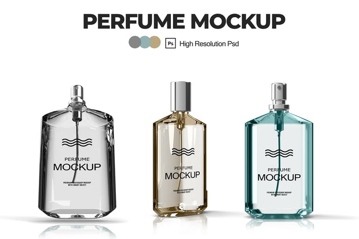 Thumbnail for Perfume Mockups V.1