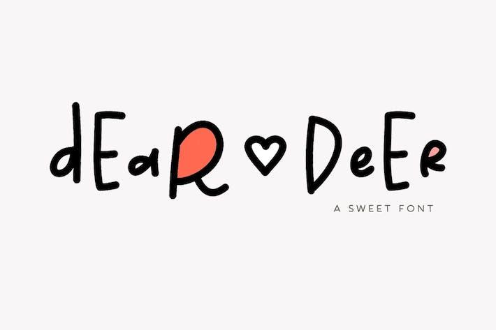 Thumbnail for Dear Deer Font