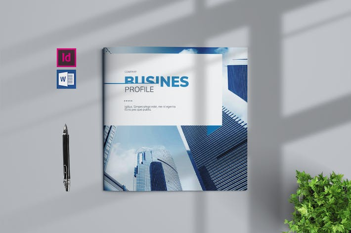 Thumbnail for Business Profile Template