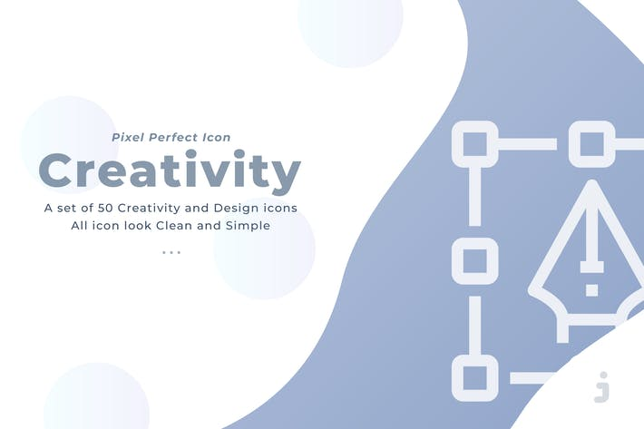 50 Creative and Design icons