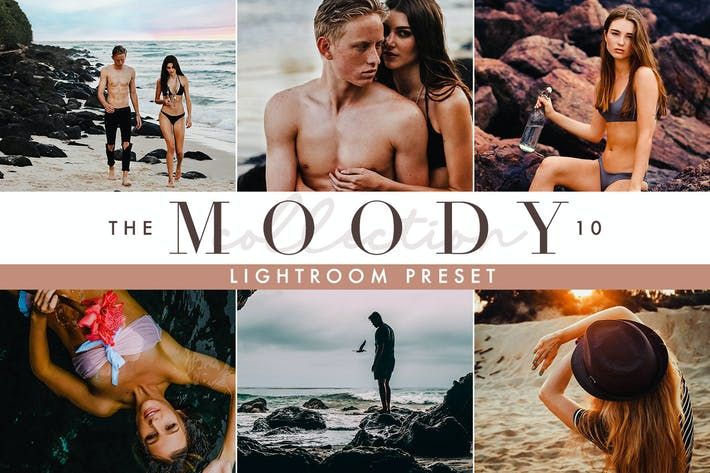 Thumbnail for Moody Lightroom Presets