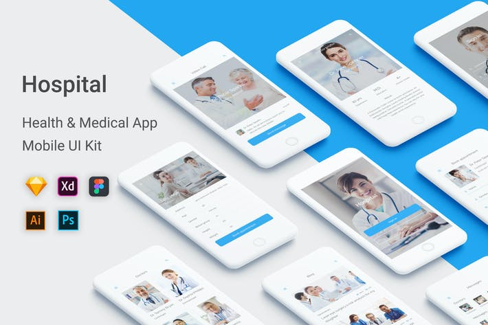 Thumbnail for Hospital - Health & Medical Mobile App