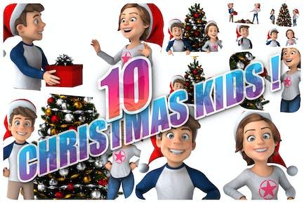 10 Weihnachts-Kids!