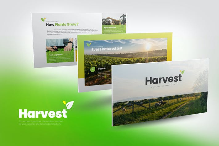 Thumbnail for Harvest Google Slides