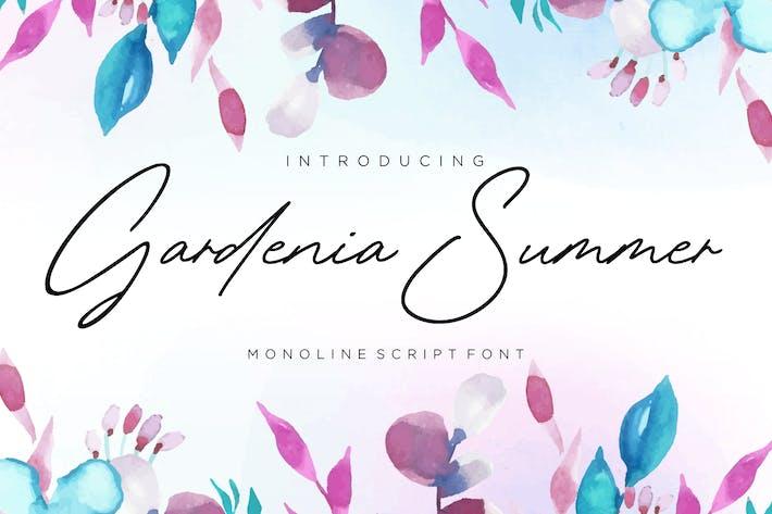 Thumbnail for Gardenia Summer YH - Signature Font