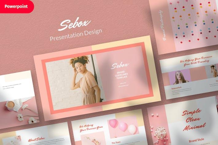 Thumbnail for Sebox- Шаблон дизайна презентации Powerpoint