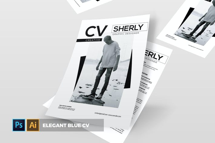 Thumbnail for Sherly | CV & Resume