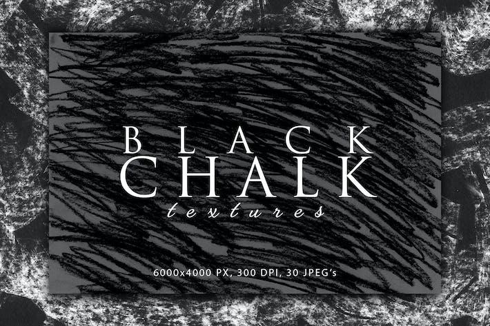 Thumbnail for Black Chalk Textures 2