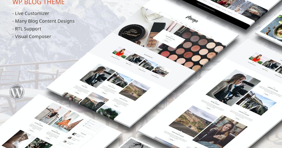 Download Maaya Blog - Travel Blog, Personal Blog by designthemes