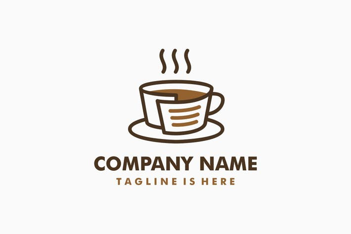 Thumbnail for Coffee Recipes Logo Template