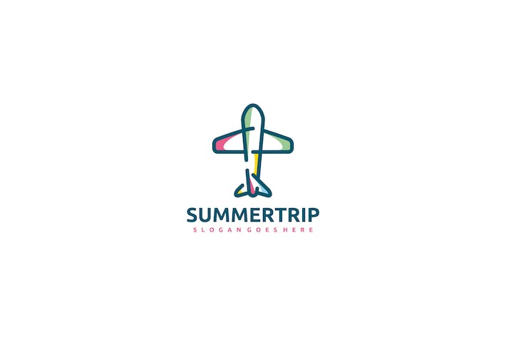 Thumbnail for Summer Airplane Logo