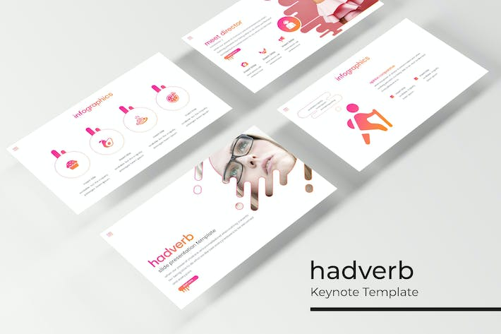 Thumbnail for Hadverb - Keynote Template