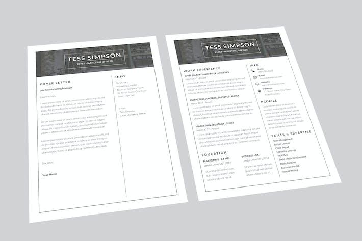 Thumbnail for CV Power Resume Designer