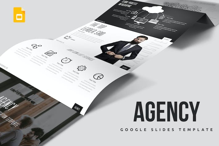 Thumbnail for Agency Google Slides Template
