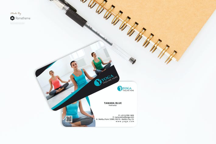 Thumbnail for Yoga - Business Card RB