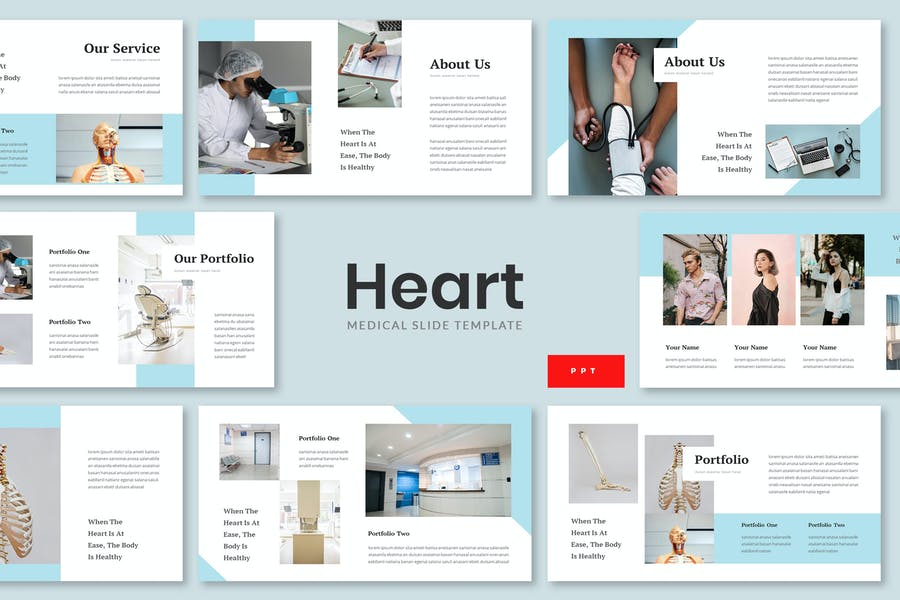 Heart - Medical Powerpoint Presentation Template