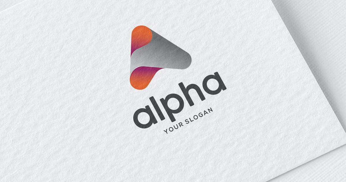 Download A letter Alpha Logo by MONOGRPH