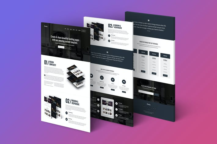 Thumbnail for Fourteen - Responsive Landing Page Template