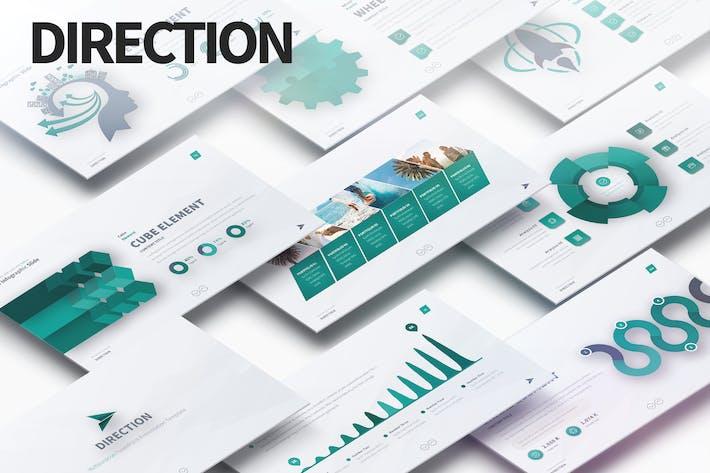 Thumbnail for DIRECTION - Multipurpose PowerPoint Presentation