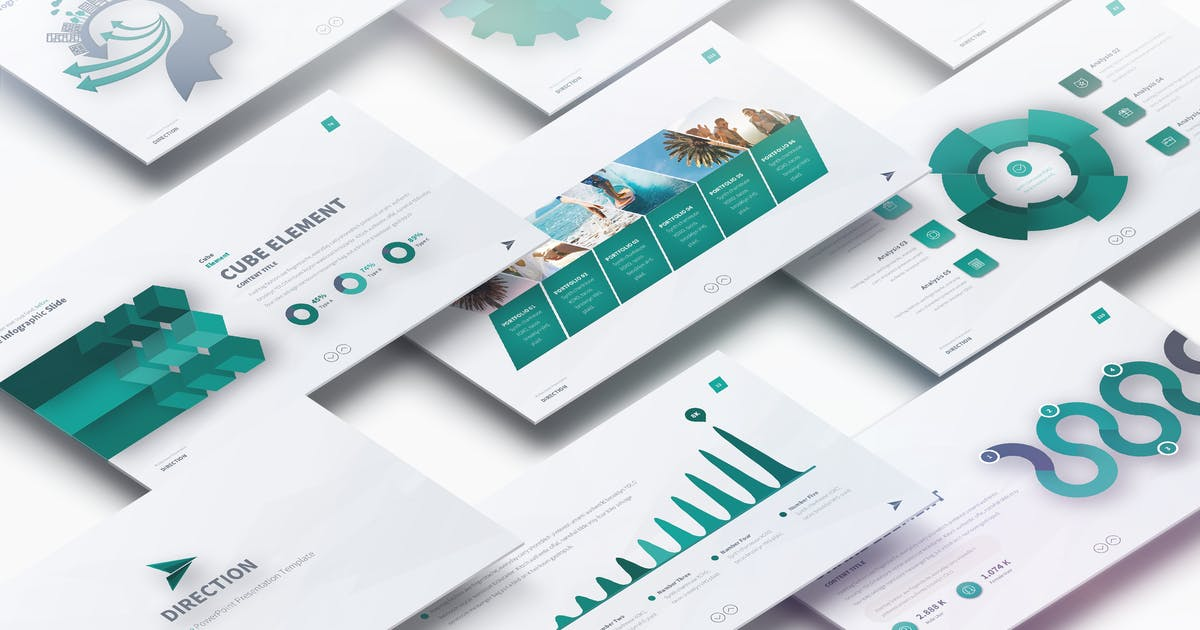 DIRECTION - Multipurpose PowerPoint Presentation by Unknow