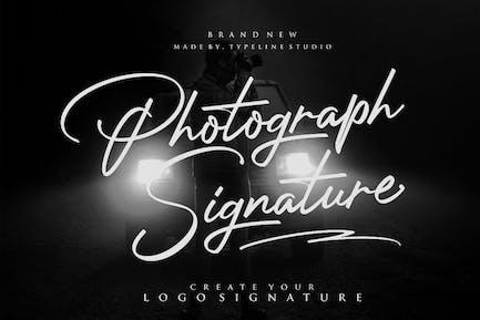 Photographie Signature