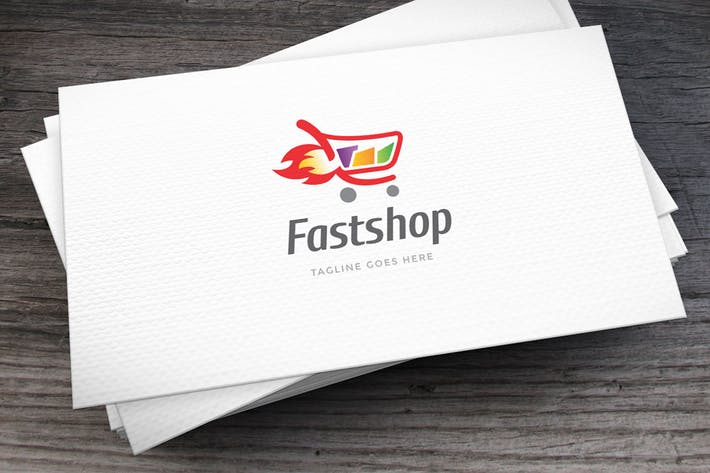 Thumbnail for Fastshop Logo Template
