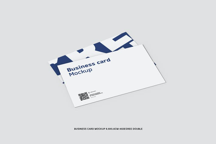 Thumbnail for 45 Degree Double Business Card 8.9x5.6cm